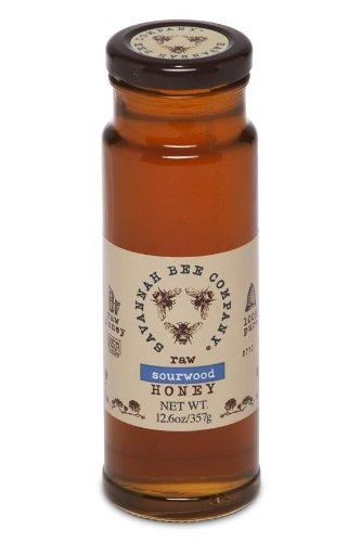 Honey Maple Tower - Savannah Bee Company Sourwood Honey (12 Ounce Tower Jar)
