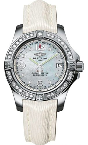 Breitling Colt Lady 33mm White Ladies Watch Model A7738853/A769