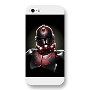 meilinF000UniqueBox Customized Marvel Series Case for iPhone 5 5S, Marvel Comic Hero Deadpool iPhone 5 5S Case, Only Fit for Apple iPhone 5 5S (White Frosted Case)meilinF000