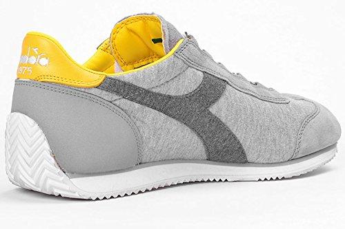 20117062001C6154 Diadora Heritage Sneakers Hombre Gamuza Gris Gris