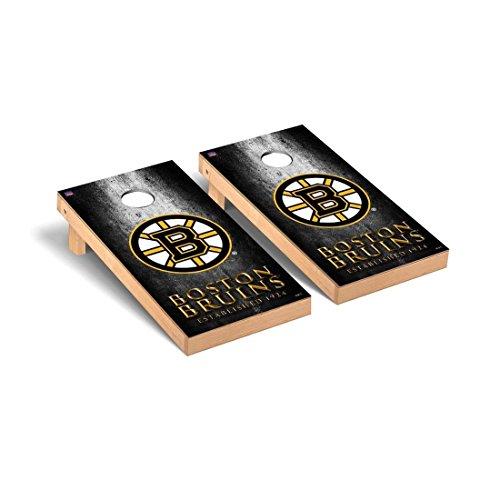 Victory Tailgate Boston Bruins NHL Regulation Cornhole Game Set Museum Version