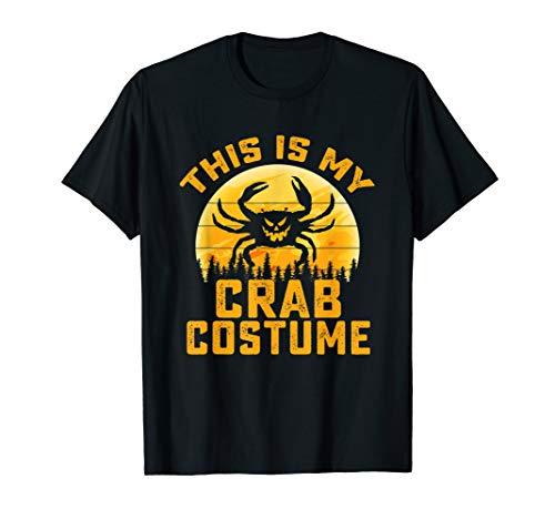 This Is My Crab Costume Halloween Gifts Men Women Kids T-Shirt