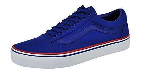 Vans Authentic Solstice 2016 Blue / Gold Mens Shoes 11.5