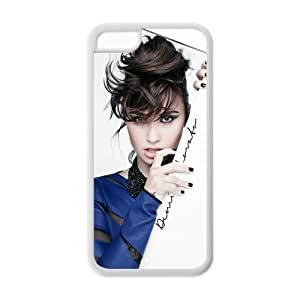 Customzie Your Own Singer Demi Lovato Back Case for iphone 5/5s iphone 5/5s JNipad iphone 5/5s-1516