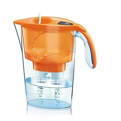 10 opinioni per Laica Streamline Caraffa Filtrante, Acqua filtrata 1.2 L, Arancione, Incluse 3