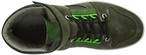 Ricosta Stefan - Zapatillas para niño verde - Grün (timo/stone 563)