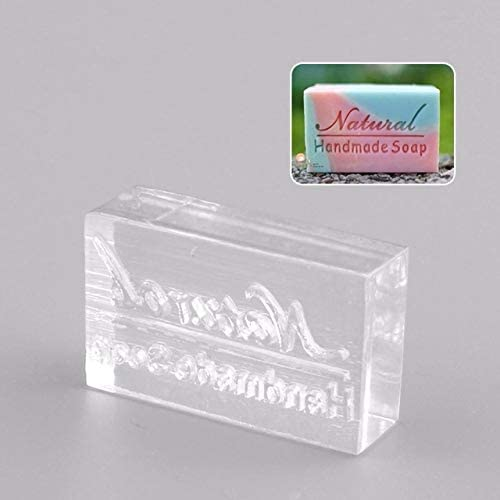 New DIY Soap Mold Rectangle Natural Word Handmade Clear Soap Stamping Stamp Seal Mould Craft: Amazon.ca: Home & Kitchen