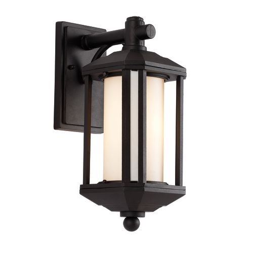 Trans Globe Lighting 40250 BK Outdoor Reveal 16.25