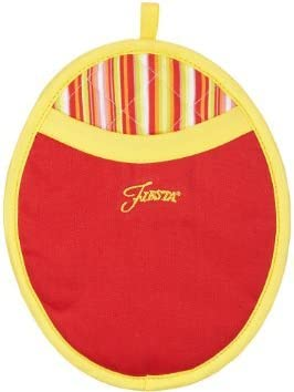 2 Calypso Terry Towels Scarlet Oval Pocket Mitt Puppet Oven Mitt 4 Piece Fiesta Kitchen Set