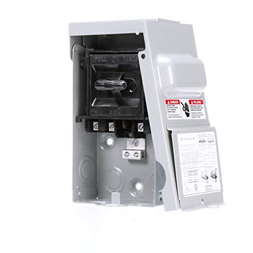 Siemens WF2060 60 Amp Fusible AC disconnect ()