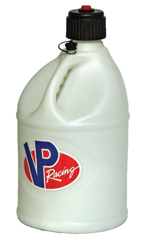 VP Racing Fuels 3024 White Round Motorsport - Can Round Gas