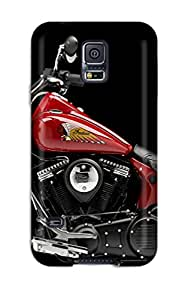 High Quality Michael Jones Motorcycle Skin Case Cover Specially Designed For Galaxy - S5 With Free Screen Protector