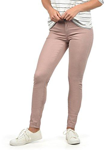 Jacqueline de Yong by Only Lara Jean Pantalon Denim Femme Extensible Coupe Skinny Woodrose