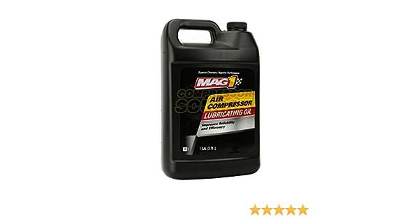 MAG1 Air Compressor Oil ISO-100 SAE-30W Non-Detergent 1 Gallon Jug: Amazon.com: Industrial & Scientific