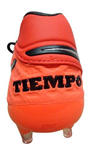 Nike Men's Tiempo Legend VI FG Football Boots, Gris Multicolore - Naranja / Plateado / Rojo (Lt Crmsn / Mtllc Slvr-ttl Crmsn)
