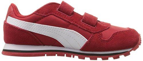 Puma St Runner Nl V Jr Sko Barbados Cherry-puma Hvid naY2IMSSl