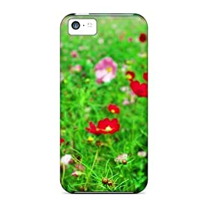 Tpu Case Cover Compatible For Iphone 5c/ Hot Case/ Kosmeya Field