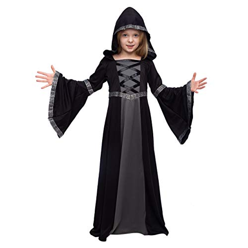 Vampire Witch Halloween Costumes (Spooktacular Creations Hooded Robe Costume for Girls Halloween Role-Playing Party)
