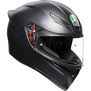 Image of Helmets AGV Unisex-Adult Full Face K-1 Motorcycle Helmet (Matte Black, Large)