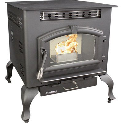 US Stove 6041HF Multi Fuel Stove, 2,000 Square (Corn Stove)