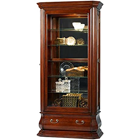 Bombay Style Side Entry Curio Cabinet 83826