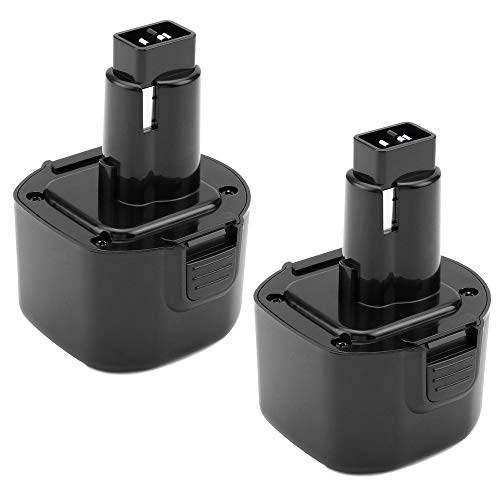 - Upgraded to 3.6Ah DW9061 Replace for Dewalt 9.6V Battery DW9062 Dw9061 DW926 DC750KA DW955K DW955 DW926K-2 DW926K DW902 DW050 DE9062 DE9061 DE9036 Cordless Power Tool 2 Pack