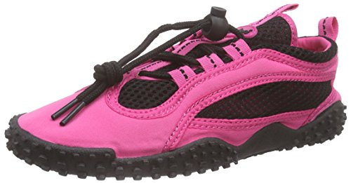 Playshoes Unisex Adults Aqua Shoes Neon, Beach & Pool Shoes Pink (Pink 18)