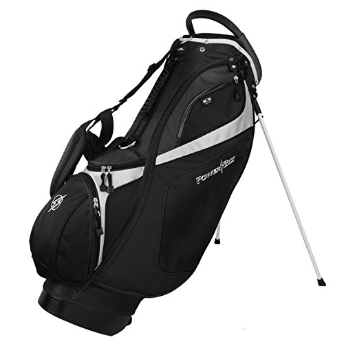 Powerbilt TPS Dunes 14-Way Black/Black Stand Golf Bag (Black)