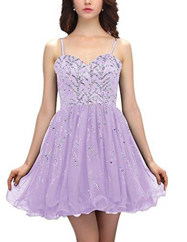 JYDress - Robe - Trapèze - Sans Manche - Femme -  violet - 46
