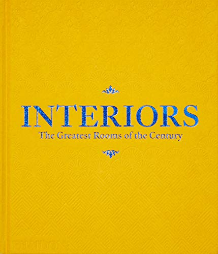 Interiors  -  The Greatest Rooms of the Century (Velvet Cover Color is Saffron Yellow, 1 of 4 available colors - see below for more detail)