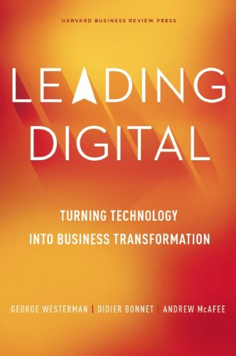 Amazon leading digital turning technology into business leading digital turning technology into business transformation by westerman george bonnet fandeluxe Images