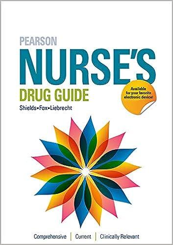 Pearson Nurses Drug Guide 2020 (Pearson Nurse's Drug Guide) - Original PDF