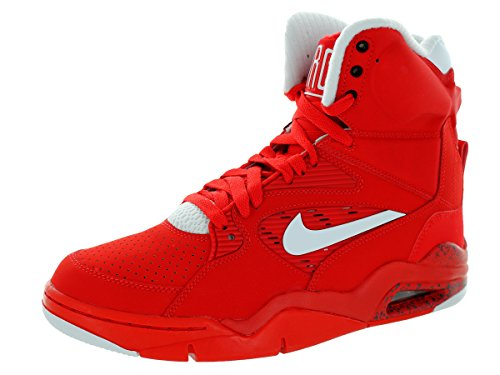- NIKE Air Command Force Mens Basketball Shoes 684715-600 University Red White-Black-Wolf Grey 13 M US