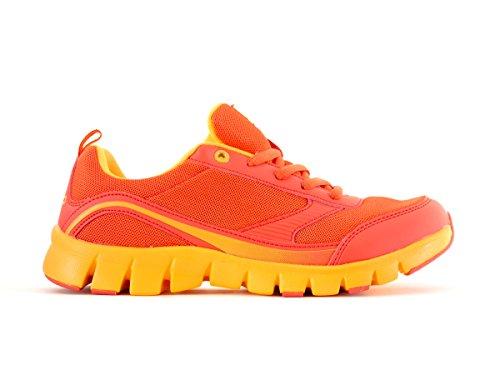 CMP Laufschuh Turnschuh Sportschuh Antares Sneakers rot Mesh Senkel Gr. 40 3Q54056