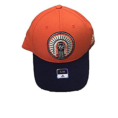 adidas Illinois Fighting Illini Strucutred Flex Orange Chief Hat