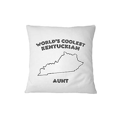 World'S Coolest Kentuckian Aunt Kentucky Sofa Bed Home Decor Pillow Cover