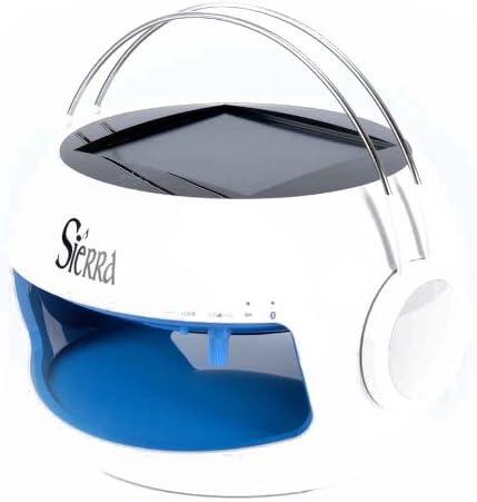 Sierra 0003 Solar Wireless Speaker Blue