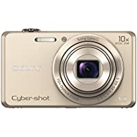 Sony DSCWX220/N 18.2 MP Digital Camera with 2.7-Inch LCD (Gold) Key Pieces Review Image
