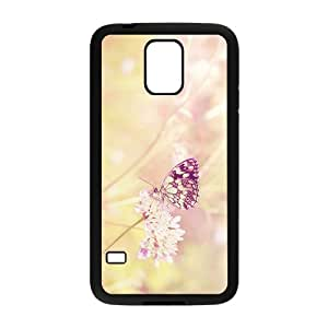 Butterfly's Pink Life Hight Quality Plastic Case for Samsung Galaxy S5