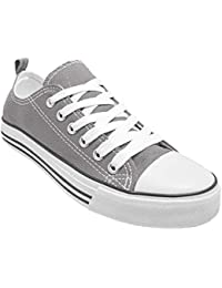 Canvas Shoes for Women - Low Top Ladies Fashion Sneakers...