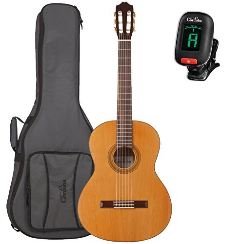 日本最大級 Cordoba B07FQ6BRLN C3M Classical Guitar with Cordoba Deluxe Cordoba Guitar Gig Bag and Cordoba Clip-On Tuner [並行輸入品] B07FQ6BRLN, ユラチョウ:05ca60f4 --- arianechie.dominiotemporario.com