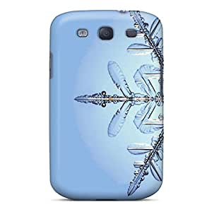 Durable Protector Case Cover With Snowflake Hot Design For Galaxy S3