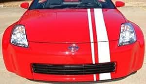 Viper tiras Viper Car Tuning 2 diseño de rayas - 3900 x 150 blanco