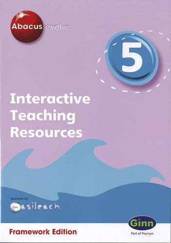 Abacus Evolve Framework Edition Year 5: Interactive Teaching Resources CD-ROM Version 1.1 (Abacus Evolve CD/digital) pdf