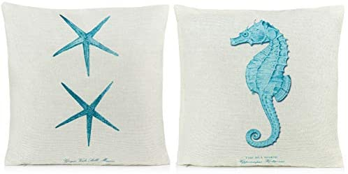 Pillows Decorative Coastal Starfish Seahorse product image