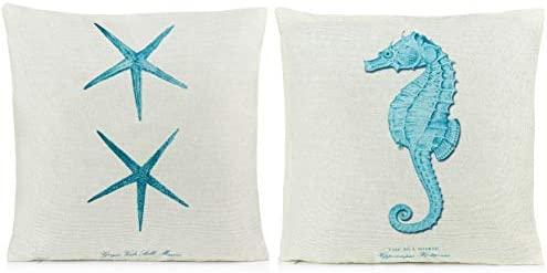 Amazon.com: Almohadas decorativas para la playa   Fundas de ...