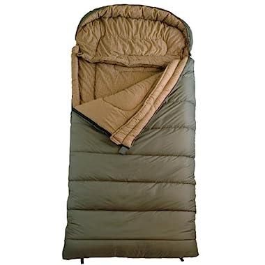 TETON Sports Celsius XXL -18C/0F Sleeping Bag, Green, Right Zip