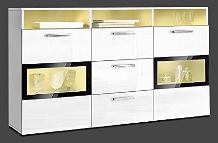 Amazon.de: Generic Sideboard Wohnzimmer WOHNWAND Schrank ...
