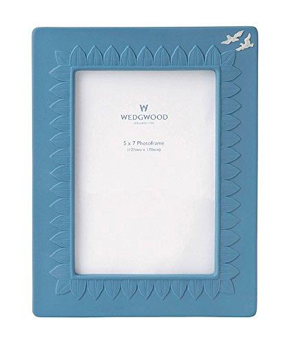 Wedgwood Jasperware Picture Frame, 5 X 7, Blue