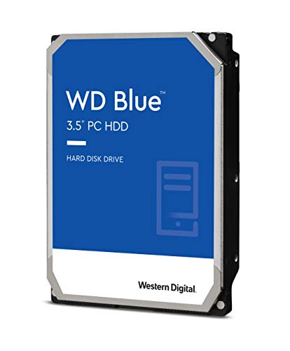 Western Digital 3TB WD Blue PC Hard Drive – 5400 RPM Class, SATA 6 Gb/s, 256 MB Cache, 3.5″ – WD30EZAZ